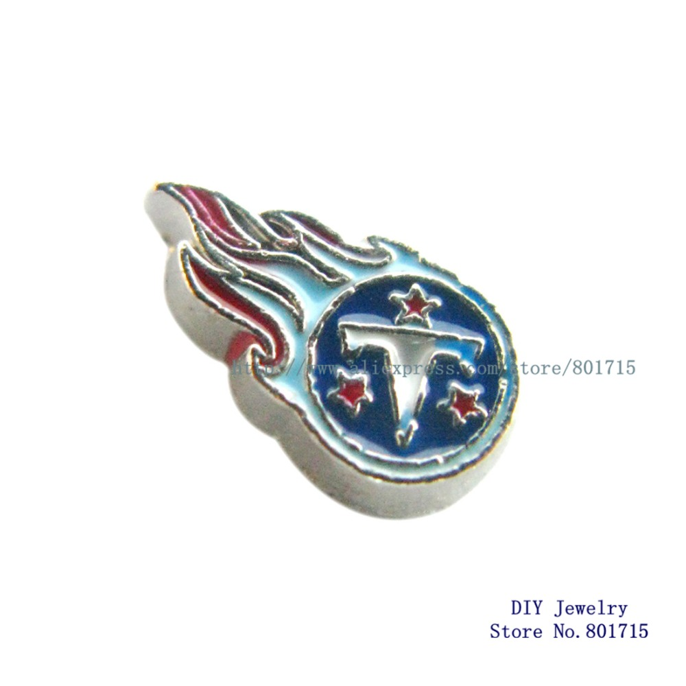 Tennessee Titans the NFL football teams floating locket charm for living floating locket as gift 10pcs FC1177(China (Mainland))