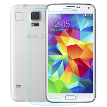 2 pcs/lot Tempered Film for Samsung Galaxy S5 i9600 9H 2.5d Hard Anti Explostion Fingher Print 0.3mm High Transparent
