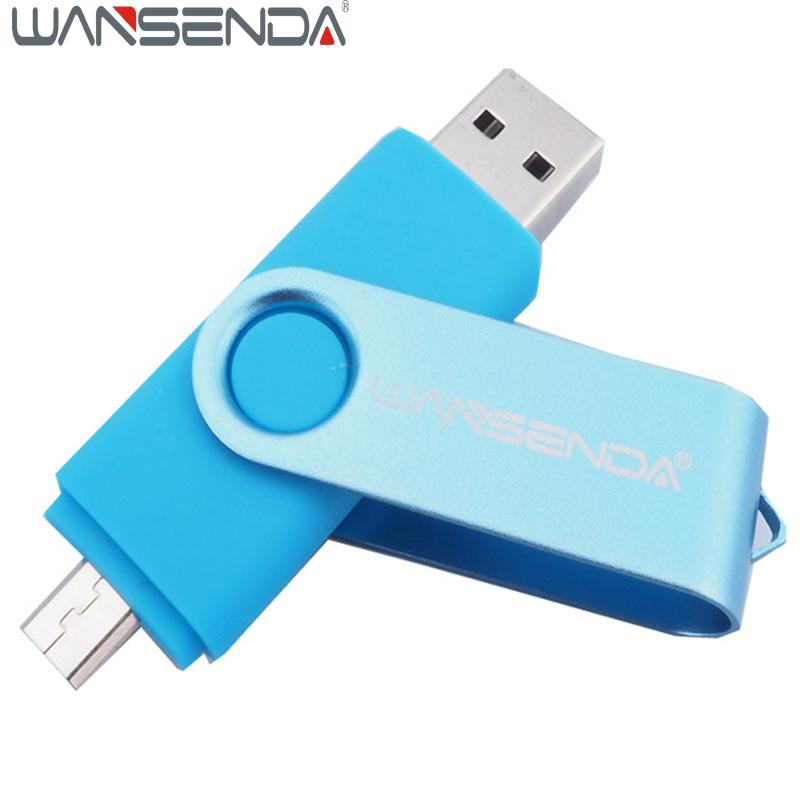 OTG usb flash drive 64gb 32gb 16gb 8gb 4gb pendrive real capacity usb memory stick usb 2.0 external storage for Android mobile(China (Mainland))