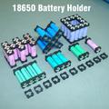18650 battery holder bracket Cylindrical battery holder 18650 li ion cell holder Safety anti vibration 18650