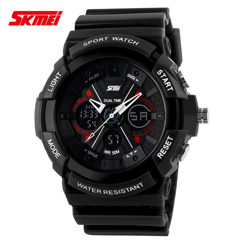 mens watches top brand luxury skmei sports