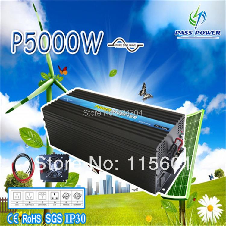 5000w/5kw pure sine wave vechile inverter,truck inverter,caravan inverter& with eternal guarantee(China (Mainland))