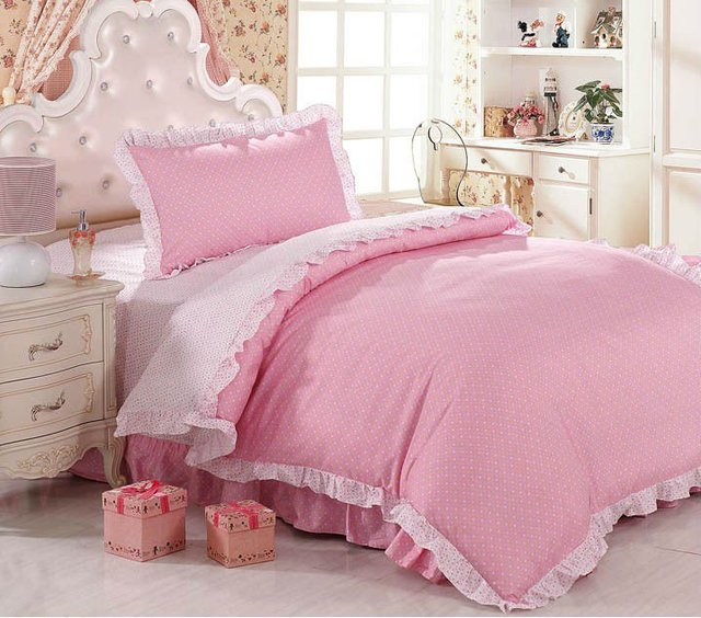 Free Shipping :100% Natural Cotton Lovery Fashion Printed Kids/Children /Baby Bedding set /Duvet Cover