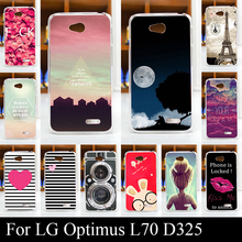 Buy LG Optimus L70 L 70 LG L65 L 65 Case Colorful Printing Drawing Transparent Plastic Mobile Phone Cover Hard Phone Cases for $1.03 in AliExpress store