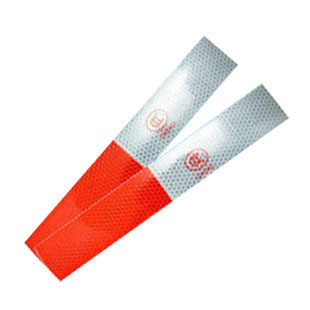 Car sticker tape red white special reflective stickers warning stickers