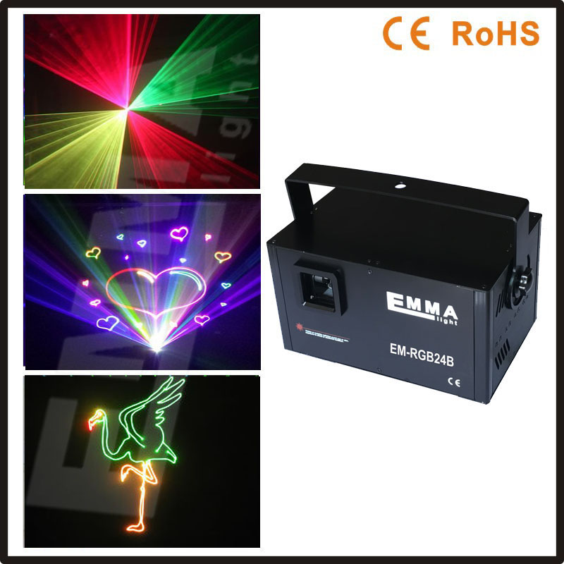 2016 high power 1.5W RGB full color animation laser 3D stage light/ Led moving head laser DJ ,stage light(China (Mainland))