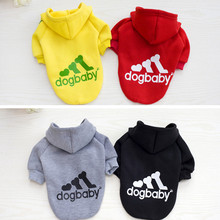 Pet Dog Clothes Coat Puppy Hoodies Vest Cute Clothing for Small Dog Sportswear Polo Shirts Cat Outfit Spring Pet Apparel 25(China (Mainland))