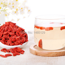 New arrived 100g Chinese wolfberry Ningxia medlar Chinese Gouqi healthy tea Ney lungs tonic Yijing heat