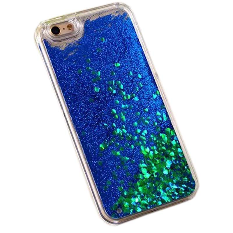 Hot Dynamic Liquid Glitter Sand Quicksand Star Case For iphone 5 5s 5g Crystal Clear phone Back Cover For i5 Shell KS1749(China (Mainland))