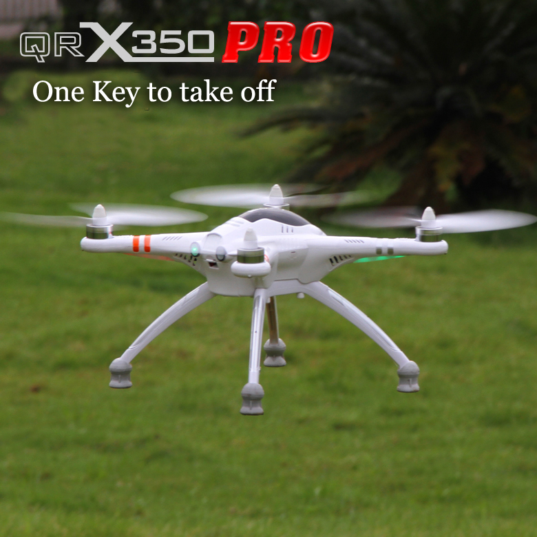 Walkera QR X350 Pro Fpv Drone Rc Quadrocopter RTF,with1080P HD Camera,GPS One key go home, Compatible Gopro3 3+,PK dji Phantom 2(China (Mainland))