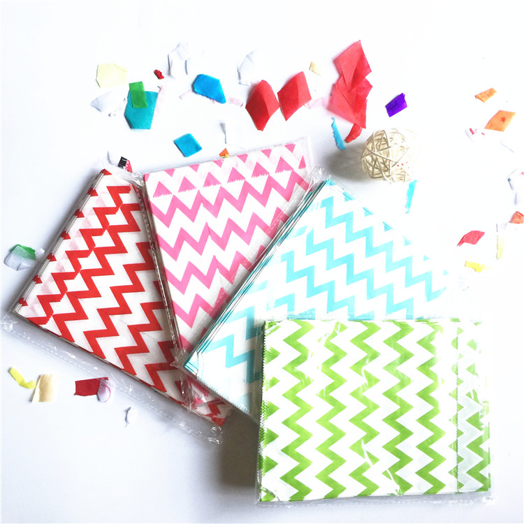 FREE SHIPPING small/big dot pattern paper bag Lollipop Paper bags 100pcs/lot Food bags13*18cm Party Lolly Favors random colors(China (Mainland))