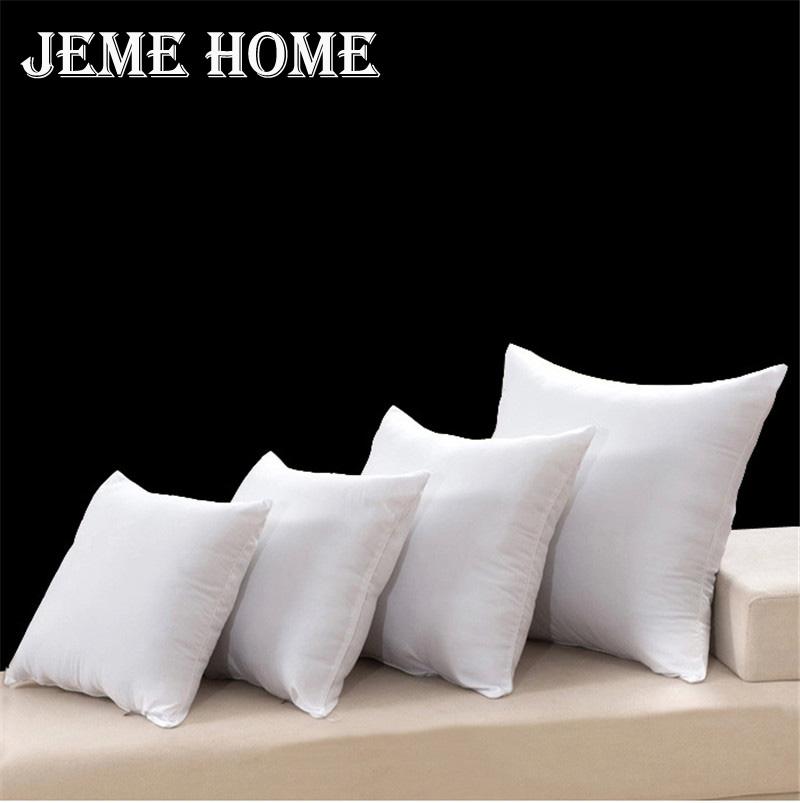 1 pcs square pillow inner home decor white soft pp cotton cushion filling pillow insert sofa