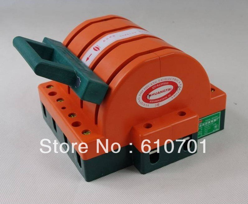 Heavy Duty 4Poles Double Throw 4PDT 200A Safety Knife Blade Disconnect Switches(China (Mainland))