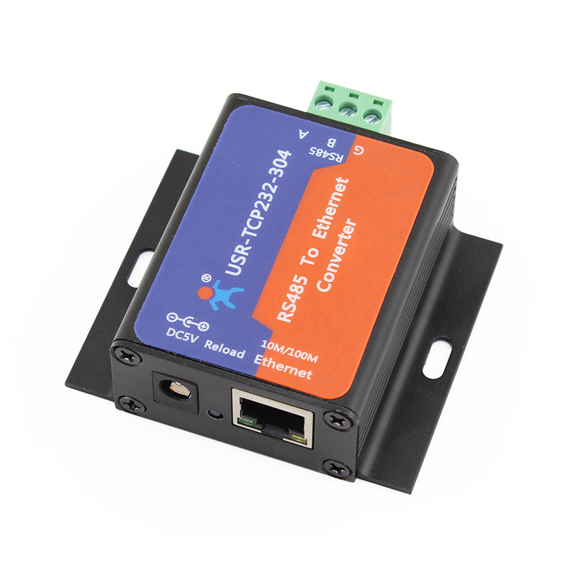 Q14870-5 5 pcs USR-TCP232-304 Serial RS485 to TCP/IP Ethernet Server Converter Module with Built-in Webpage DHCP/DNS Supported(China (Mainland))