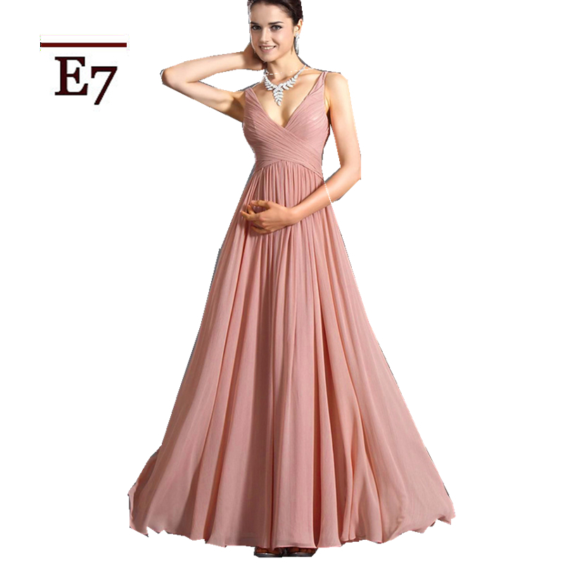 Bridesmaid Dresses Champagne Coral Colored Pink Mermaid