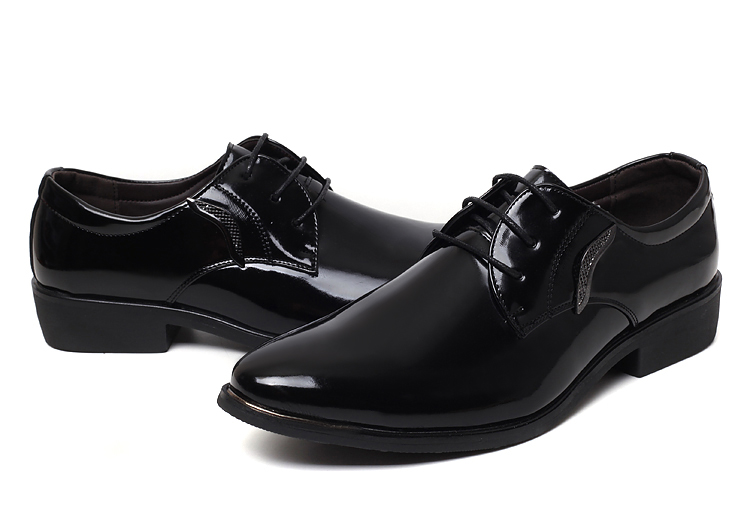men shoes leather business dress flats fashion man casual oxford 2015 designer loafers office - Fashion shoe store