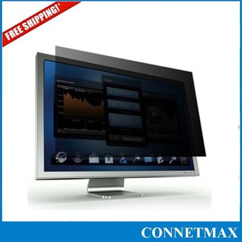 "PF21.5W Privacy Screen Film for Widescreen (16:9) Desktop LCD Monitor 21.5"" , Free Shipping"