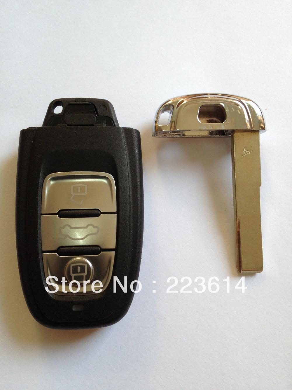 3 button smart key Audi Q5/A4L 868MHZ/433MHZ/315MHZ 8KO 959 754C super quality - Auto world store