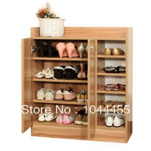 2014 new wooden shoe shelf racks storage cabinet with Living room shoe storage ideas