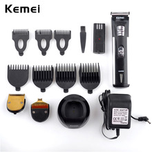 Rechargeable Hair Trimmer 3 Trim Heads+7 Limited Combs Professional Electric Shaver For Men Hair Clipper Machine To Haircut Hair(China (Mainland))
