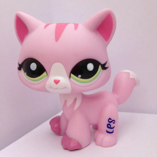 LPS LITTLEST PET Животные Коллекция Рисунок Девушка Розовый Кот DWA217