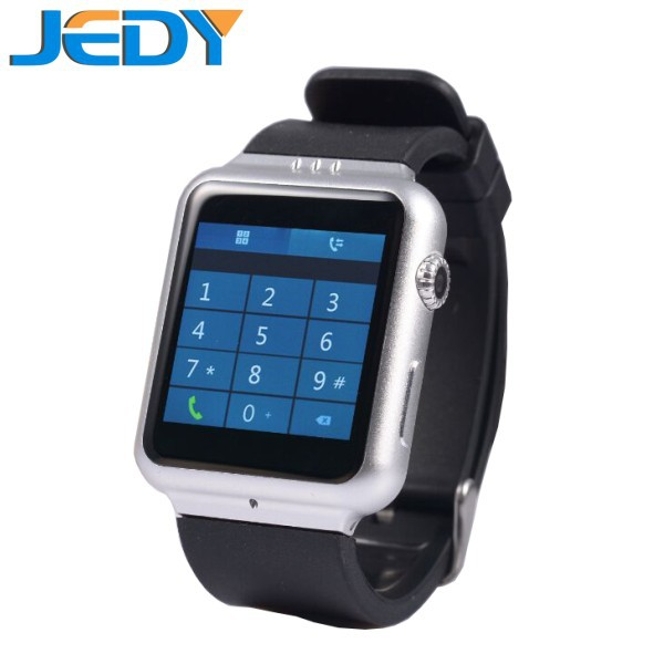 Free shipping 2015 Android smart Watch phone Android 4.4.2 OS GPS\WIFI\BT\pedometer 3g smart watch phone(China (Mainland))