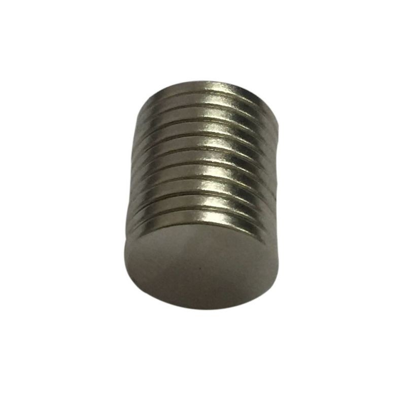 50 pcs/pack 12 x 1 mm Ring N50 Magnet Rare Earth Neodymium Permanent Magnets