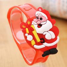 Children Adult Luminescent Bracelet LED Luminous Flash Wrist Band Light-emitting kids Christmas Gift Creative(China (Mainland))
