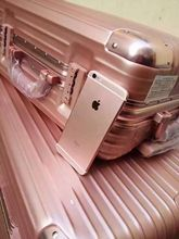 20 trolley gold pink aluminium luggage 24 inch Shing Gold pink suitcase 29 bagages valises(China (Mainland))