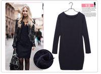 Женское платье 2015 Vestidos szie s 3XL