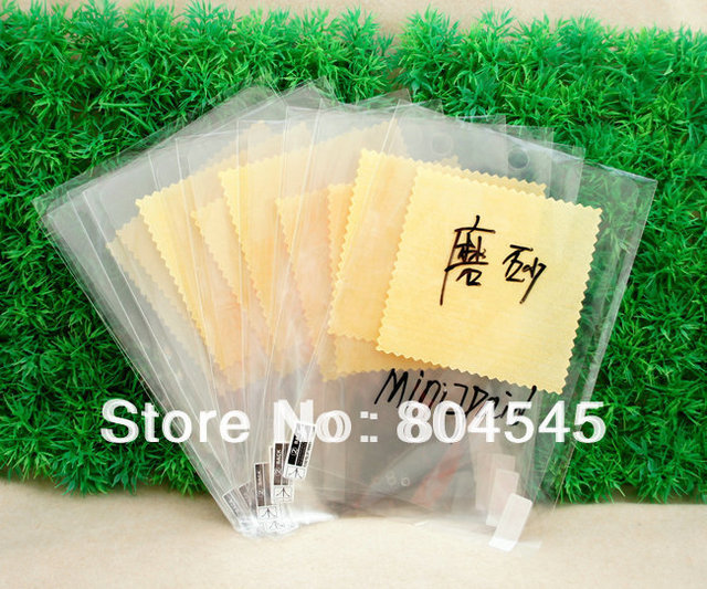 Free shipping cheap 10 X Matte Anti-glare Clear LCD Screen Protector Film For Apple iPad Mini I01
