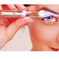 Girl Eyebrow Tweezer Professional 2015 Makeup Stainless Steel Eyelash Eyebrow Tweezers With LED Light Cosmeticc Tool