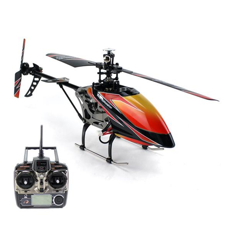 Wltoys V912 Alloy 2.4G 4CH Single-Blade RC Remote Control Gyro Helicopter Toy LCD Screen Display Control 150 Meters RC Toys GIFT(China (Mainland))