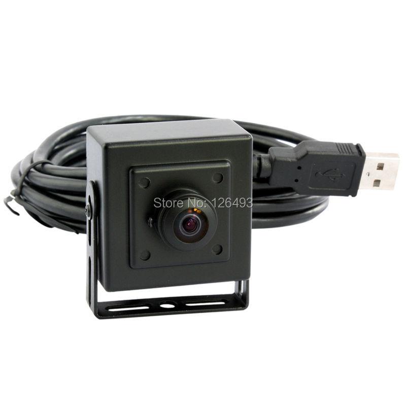 480P CMOS OV7725 wide angle mini UVC USB Camera Android with 170degree fisheye lens