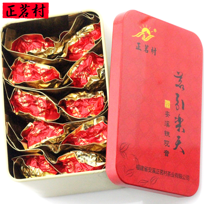 Promotion 83g top grade Chinese Anxi Tieguanyin tea oolong China fujian tie guan yin tea Tikuanyin health care oolong tea bags