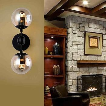 Koop loft stijl retro vintage industri le edison led wand lamp licht met 2 - Licht industriele vintage ...