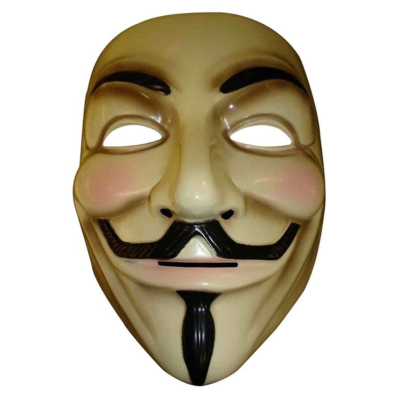 Hot Sale V for Vendetta Mask Guy Fawkes Anonymous Halloween Masks fancy dress costume superhero party masks YW3A-90_6