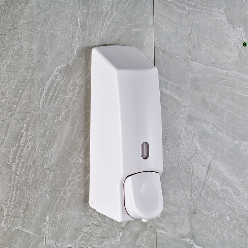 Pure Design Wall Mounted Plastic Soap Dispenser White Color Hand Dispenser(China (Mainland))