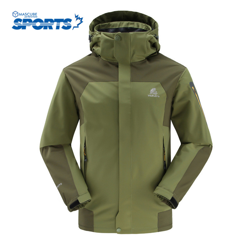 Hiking Jackets Spring Autumn Single Outdoor Waterproof Climbing Skiing Breathable Windproof Sport Outdoor Coat Chaqueta Hombre(China (Mainland))