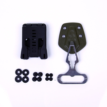 EDC Gear Multifunction belt clip/K sheath can use for knife with K sheath torch light or AXE