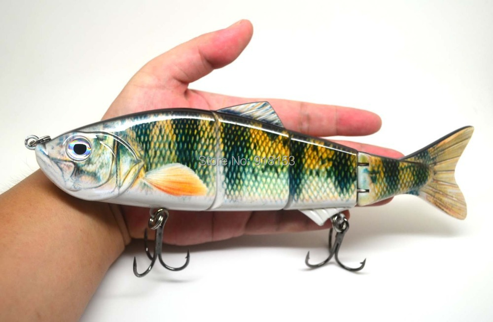 25cm multi jointed fishing lure big bait swimbait bass