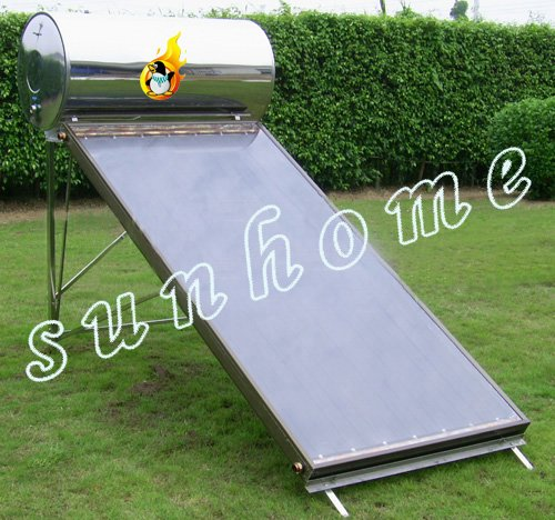 Solar water heater,Flat Plate Solar Collector Guaranteed 100% free custom logo and free shipping(China (Mainland))