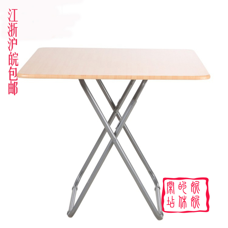 non wood dining table simple folding mahjong table