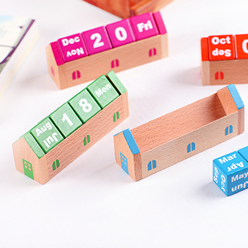 Wood Perpetual Calendar Promotion Shop For Promotional