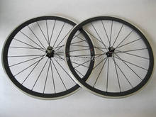 Buy 700C Carbon wheel alloy brake surface 38mm clincher 20.5mm width road wheel for $475.00 in AliExpress store
