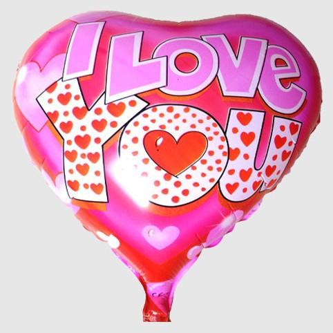 Wholesale helium balloon classic Valentine LOVE heart-shaped balloon supplies automatic film sealing(China (Mainland))