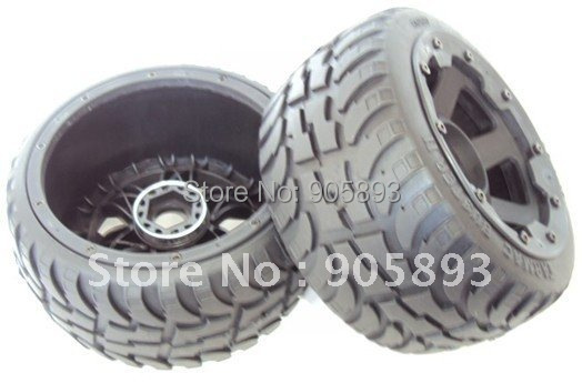 New Onroad Baja Wheel &amp; Tyres - Rear - 2nd Generation<br><br>Aliexpress