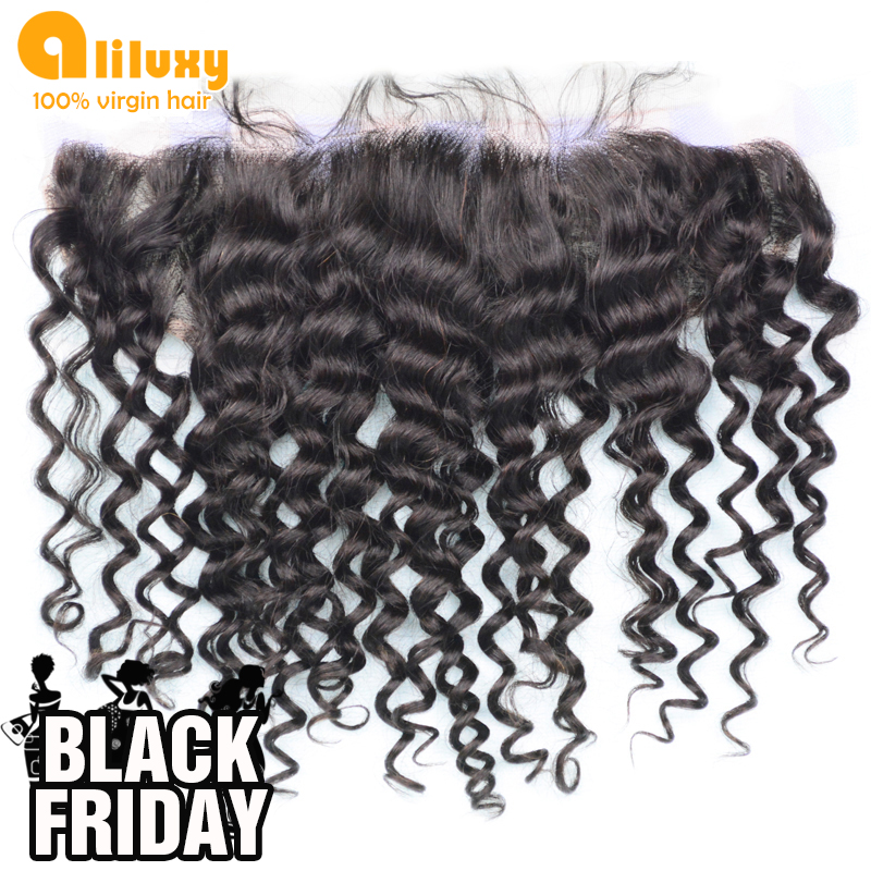 Гаджет  luxy 2015 New Arrival  top quality Lace Frontal 13*4 size, Deep wave lace frontal ,100% virgin hair,can be dyed and bleached None Волосы и аксессуары