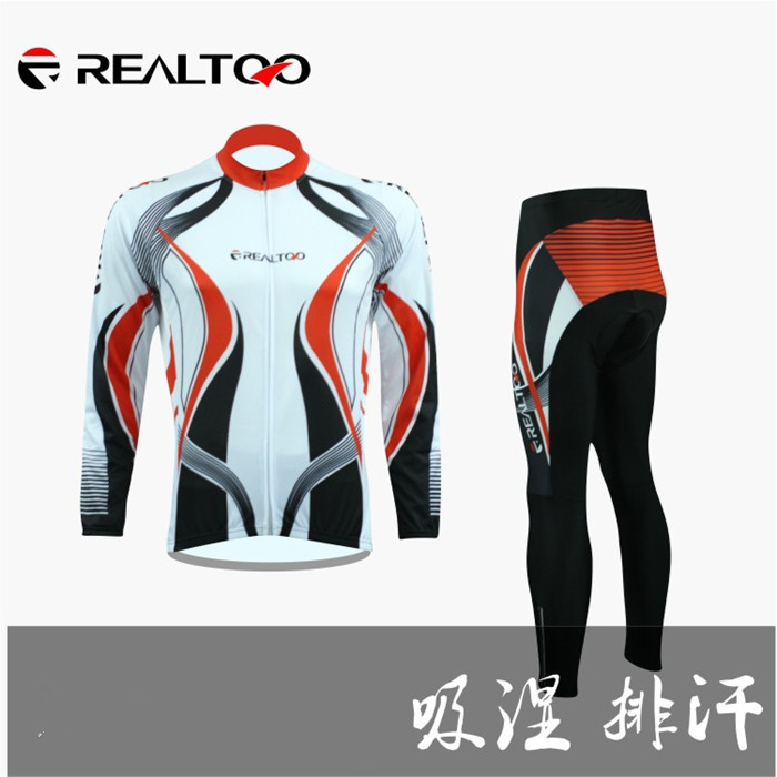 2014 Spring/Autumn long sleeves  breathable jacket  Cycling Clothing Cycling Sets sportswear Long Cycling Jersey and Pants