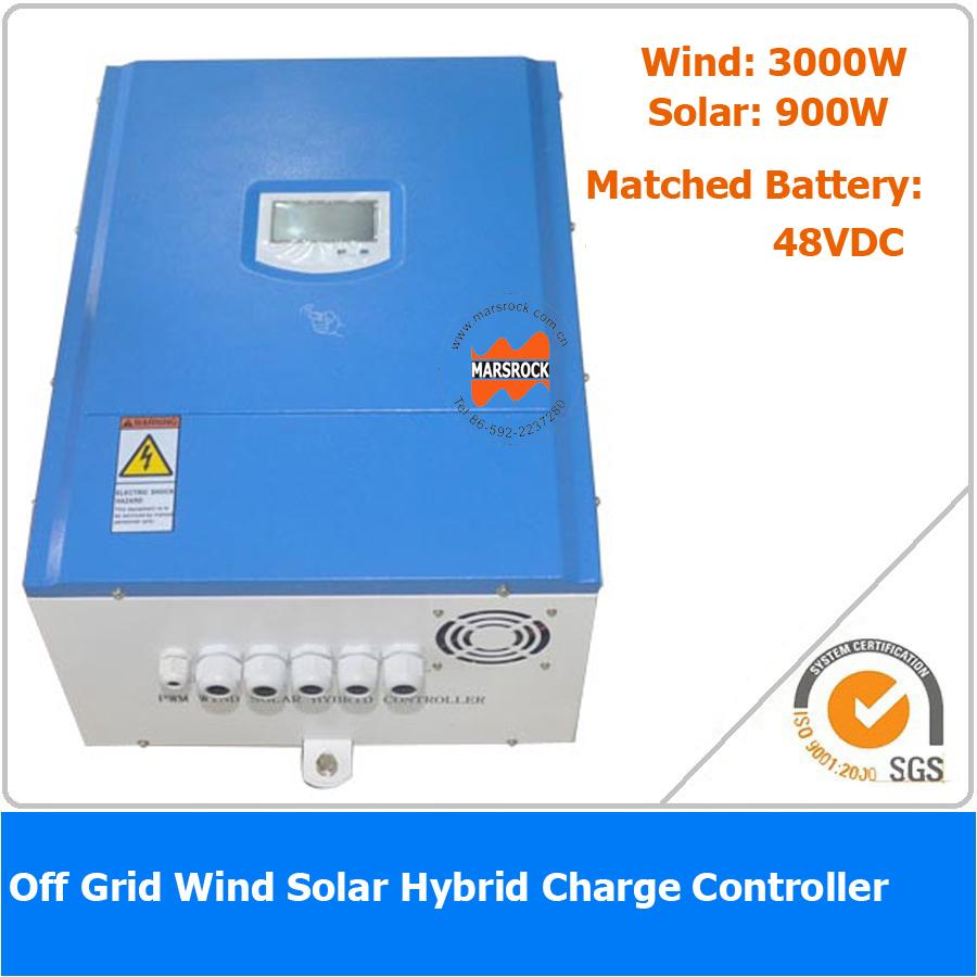 3900W 48VDC Off Grid Wind Solar Hybrid Charge Controller, 3000W Wind Power, 900W Solar Power(China (Mainland))